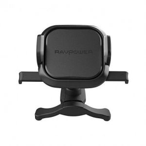 Автодержатель (до 7'') с беспроводным зарядным устройством RavPower Car Holder Wireless Charger 10W Air Vent (RP-SH008)