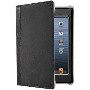 Кожаный чехол Twelvesouth Leather Case BookBook Classic Black для iPad Mini/iPad Mini 2/iPad Mini 3 (TWS-12-1235)