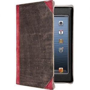 Кожаный чехол Twelvesouth Leather Case BookBook Vibrant Red для iPad Mini/iPad Mini 2/iPad Mini 3 (TWS-12-1236)