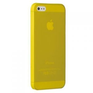 Чехол Ozaki O!coat 0.3 Jelly Yellow для iPhone SE и iPhone 5/5S (OC533YL)