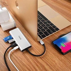 Адаптер WIWU Adapter Apollo A531H USB-C to HDMI+3xUSB3.0+USB-C Silver