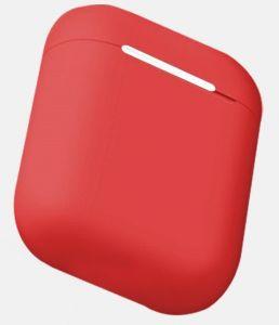 Силиконовый чехол для зарядного кейса для AirPods 1 (2016) WIWU iGlove Case Red