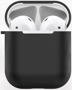 TPU-чехол для зарядного кейса для AirPods 1 (2016) WIWU iShell TPU Case Black