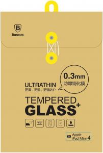Защитное cтекло для iPad Mini 4/5 Baseus Glass (0.3 mm) Clear