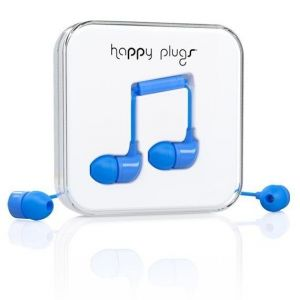 Наушники Happy Plugs Headphones In-Ear Blue (7718)