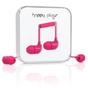 Наушники Happy Plugs Headphones In-Ear Cerise (7724)