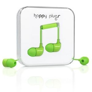 Наушники Happy Plugs Headphones In-Ear Green (7719)