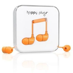 Наушники Happy Plugs Headphones In-Ear Orange (7723)