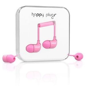 Наушники Happy Plugs Headphones In-Ear Pink (7717)