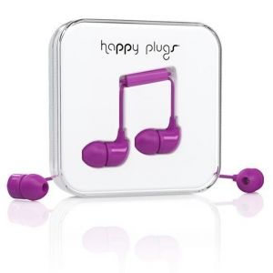 Наушники Happy Plugs Headphones In-Ear Purple (7725)