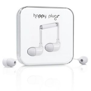 Наушники Happy Plugs Headphones In-Ear White (7726)