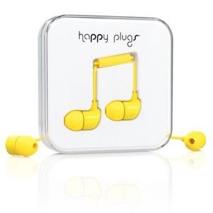 Наушники Happy Plugs Headphones In-Ear Yellow (7721)