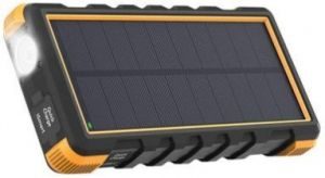 Внешний аккумулятор RavPower Power Bank Outdoor Solar Charger 25000mAh Black/Orange (RP-PB092)