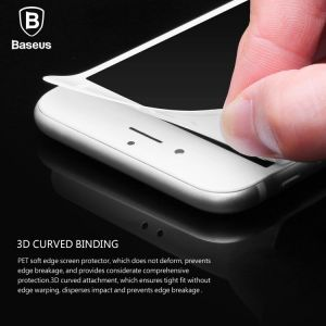 Защитное стекло для iPhone 8 Plus / 7 Plus (5.5'') Baseus Full Glass Anti-Blue Light (0.23 mm) Black