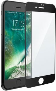 Защитное 3D-стекло для iPhone 8 Plus / 7 Plus (5.5'') Rock Space 3D Tempered Glass with Soft Edge Black (6950290646195)