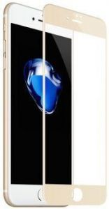 Защитное 3D-стекло для iPhone 8/7 (4.7'') Baseus Full Glass PET Soft 3D (0.23 mm) Gold