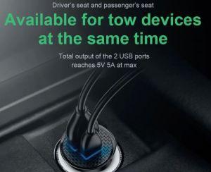 Автомобильное зарядное устройство Baseus PPS USB Car Charger USB 3.0+USB-C 30W White (CCALL-YS02)