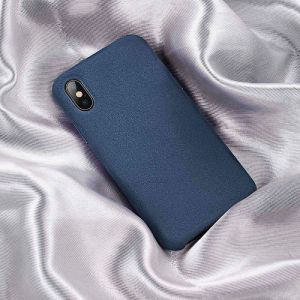 Чехол для iPhone XS Max (6.5'') Baseus Super Fiber Case Blue (WIAPIPH65-YP03)