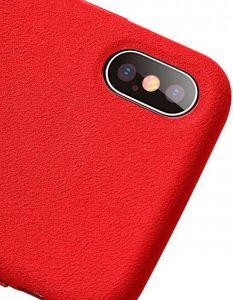 Чехол для iPhone XS Max (6.5'') Baseus Super Fiber Case Red (WIAPIPH65-YP09)