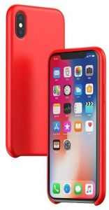 Чехол для iPhone XS (5.8'') Baseus Original LSR Case Red (WIAPIPH58-ASL09)