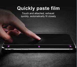 Защитное стекло для iPhone X/XS Baseus 0.2mm Silk-Screen Anti-bluelight Tempered Glass Film Black