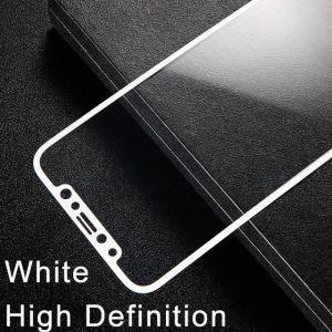 Защитное стекло для iPhone X/XS Baseus 0.2mm Silk-Screen Tempered Glass Film White