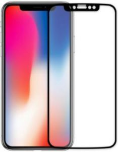 Защитное 3D-стекло для iPhone X Baseus 0.3mm Silk-Screen 3D Arc Tempered Glass Film Black