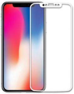Защитное 3D-стекло для iPhone X/XS WK Kingkong 4D Curved Tempered Glass White (WTP-010)