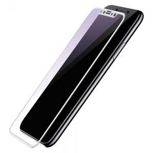 Защитное 3D-стекло для iPhone X/XS Baseus 0.3mm Silk-screen 3D Anti-bluelight Tempered Glass Film White