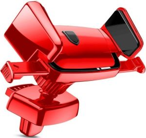 Автодержатель (до 6'') Baseus Robot Air Vent Car Mount Red