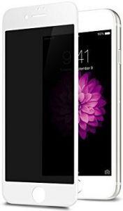 Защитное 3D-стекло (антишпион) для iPhone 8+/7+ (5.5'') WK Design Kingkong 4D Curved Tempered Glass Privacy White (WTP-012)