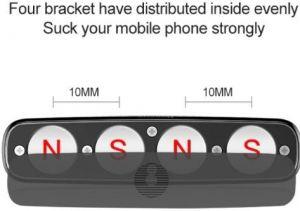 Автодержатель Baseus Double clip Vehicle Mount (Horizontal type) Black (SUHS-DP01)