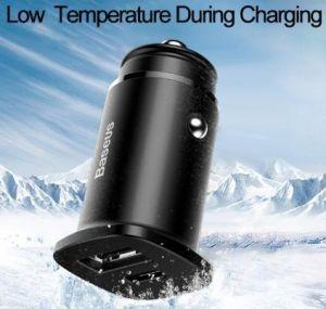 Автомобильное зарядное устройство Baseus PPS Car Charger (30W PD 3.0, QC4.0+, SCP) Black (CCALL-AS01)
