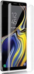 Защитное 3D-стекло (на силиконовом клее + УФ лампа) для Samsung Galaxy Note 9 (N960) Premium UV Glass Transparent