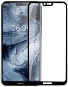 Защитное стекло для Nokia 6.1 Plus ArmorStandart Full-Screen Fullglue Black