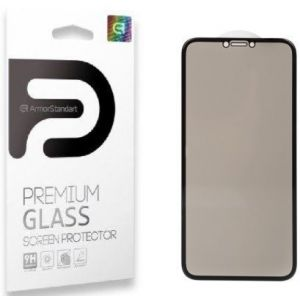 Защитное 3D-стекло (антишпион) для iPhone XS Max ArmorStandart Full-Screen 3D PREMIUM Anti-spy Black