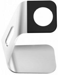 Подставка с поддержкой функции док-станции для Apple Watch ArmorStandart Exact Stand for Apple Watch (charger compatible) Silver