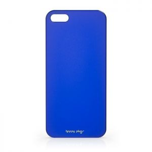 Чехол Happy Plugs Ultra Thin Case Cobalt для iPhone SE и iPhone 5/5S (8813)