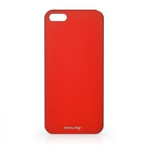 Чехол Happy Plugs Ultra Thin Case Red для iPhone SE и iPhone 5/5S (8801)