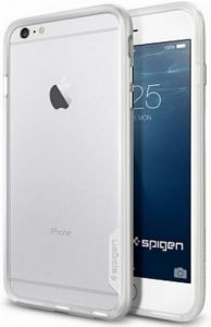 Бампер для iPhone 6 Plus / 6S Plus (5.5'') Spigen (SGP) Case Neo Hybrid EX Series Satin Silver (SGP11059)