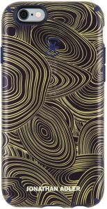 Чехол для iPhone 6/6S (4.7'') Speck CandyShell Inked Jonathan Adler Malachite Black Gold / Berry Black Meta (SP-73990-5132)