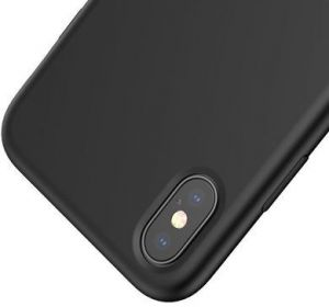 Чехол для iPhone XS Max (6.5'') Baseus Original LSR Case Black (WIAPIPH65-ASL01)