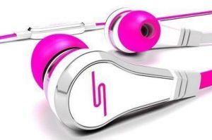Наушники STREET by 50 Wired Earbuds - Pink (SMS-EB-PNK)