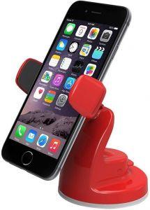 Автомобильный держатель для мобильных устройств c диагональю до 7'' (iPhone/Smartphone) iOttie Easy View 2 Universal Car Mount Holder Red (HLCRIO115RD)