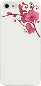 Чехол для iPhone SE и iPhone 5/5S Bling My Thing ORCHID COLOUR (White with Pink) (BMT-AI5-OD-WH-LRS)