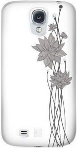 Чехол для Samsung Galaxy S4 Bling My Thing LOTUS ( WHITE WITH GRAY) (BMT-AS4-LT-WH-CRY)