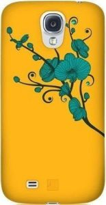 Чехол для Samsung Galaxy S4 Bling My Thing ORCHID (YELLOW WITH TURQUOISE) (BMT-AS4-OD-YL-BLZ)
