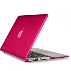 "Чехол для MacBook Air 11"" Speck SeeThru Raspberry (Glossy) - 1 (SP-SPK-A2195)"