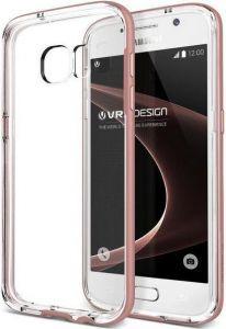 Чехол для Samsung Galaxy S7 (G930) VRS Design Crystal Bumper - Rose Gold (904370)