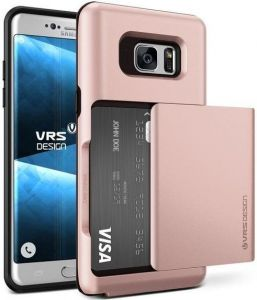 Чехол для Samsung Galaxy Note Fan Edition (N935) / Note 7 (N930) VRS Design Damda Glide - Rose Gold (904576)